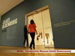 Polish TV, Poland, MoMA – Claes Oldenburg Exhibition 2013